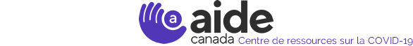 AIDE Canada | Covid 19 | Version Francaise Logo